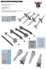 Eduard bigsin 64828 1/48 Grumman F-14A TOMCAT armi SET TAMIYA C