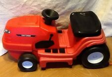 My First Craftsman Ride On Toy Tractor Lawn Mower Red Yard Scoot Toy