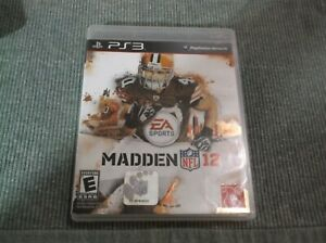 Madden NFL 12 PlayStation 3 PS3 EA Sports Complete