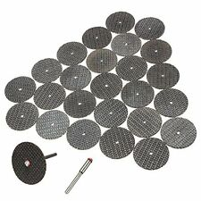 25 pcs blades cutting disc set 32mm with arbor For Dremel rotary tool LW