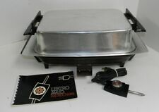 Lektro Miracle Maid 13669 Electric Skillet West Bend with Cutting Board