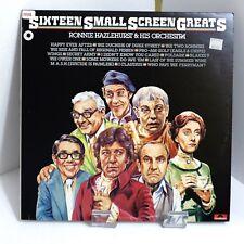 1978 Ronnie Hazlehurst Sixteen Small Screen Greats Polydor 2384 107 Mint LP