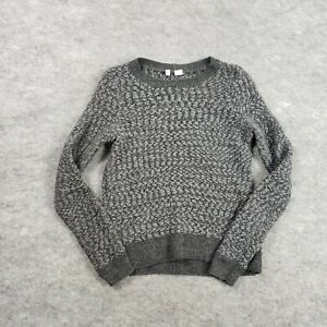 Anthropologie Moth Sweater Womens XS Extra Small Fleece Wool Crew Neck Ladies