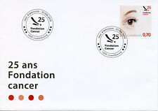 Luxembourg 2019 FDC Fondation Cancer Foundation 1v Cover Health Medical Stamps
