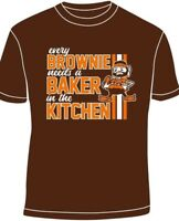 Baker Mayfield EVERY BROWNIE NEEDS A BAKER IN THE KITCHEN All sizes small - 3xl