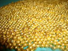 100pcs 3mm Gold Plated stardust ball spacer beads jewellery making findings