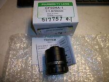 Fujinon Tv Lens CF50HA-1 1:1.8/50mm