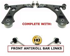 FOR VAUXHALL CORSA D FRONT LOWER WISHBONE CONTROL ARMS MEYLE HD LINKS 2006-