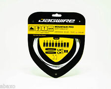 Jagwire Ripcord Mountain Pro Shift Cables & Housings Kit,White