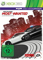 Need for Speed Most Wanted Kinect Empfohlen (Microsoft Xbox 360 DVD-Box) OVP Gut