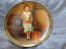 A Young Girls Dream Rockwell Collectible Plate