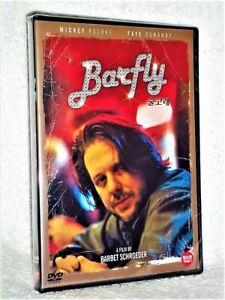 Barfly (DVD, 2002, Widescreen) Mickey Rourke Charles Bukowski Barbet Schroeder