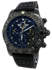 Breitling Chronomat 44 Black Steel Jet Team Limited Edition MB01109L/BD48 New