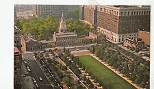 BF17847 independence hall and mall philadelphia Pa uSA front/back image