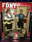 '2002 *Vintage REAL HEROES Limited Edition FDNY Firefighter 9/11 Action Figures