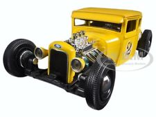 "1929 FORD MODEL A YELLOW #2  ""OUTLAWS"" 1/24 DIECAST MODEL CAR BY MAISTO 31354"