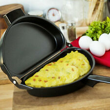 Nonstick Omelet Egg Pan Poacher Cookware Stove-top  Family Kitchen Tool Use FE