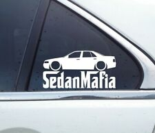 Lowered SEDAN MAFIA sticker - for Cadillac Seville STS 4th gen 1998-2004