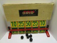 VINTAGE BRIO BOWLINGSPEL BOWLING GAME W/BOX