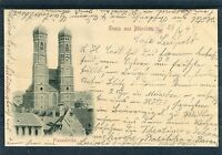 Ansichtskarte Gruss aus München Frauenkirche - 00758