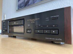 Sony CDP X77ES High End-CD-Player + Neuer Riemen!