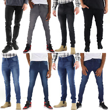 Mens Slim Fit Jeans Skinny Stretch Denim Pants Slim Skinny Casual Jeans Designer