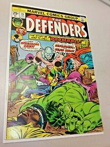 Marvel - Defenders 19 2nd Wrecking Crew Dr. Strange Luke Cage Hulk MVS Yes 1975