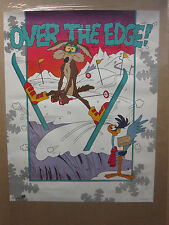 Vintage Over the edge coyote and road runner 1992 Warner Bros. 11568