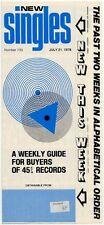 Rezillos Lurkers Tubeway Army Bryan Ferry Grace Jones R Palmer Snatch 10cc Guide