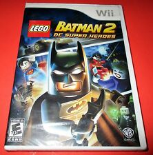 LEGO Batman 2: DC Super Heroes Nintendo Wii *Factory Sealed! *Free Shipping!