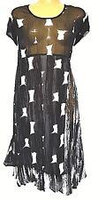 TS dress TAKING SHAPE PETITE plus sz S / 16 Hot Spot Dress sheer sexy NWT rp$130