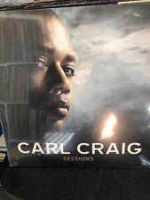 Carl Craig-Sessions VINYL NEW Sealed 3lp Hip Hop Techno House