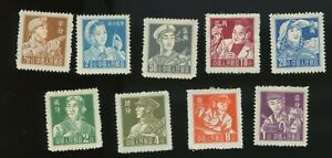 PR China 1955 R8 Definitive set, MH