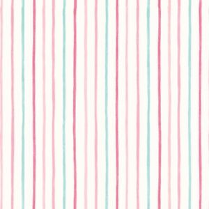 Laura Ashley Painterly Stripe Pink Wallpaper (Same Batch) FREE DELIVERY