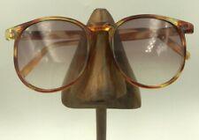 Vintage Foster Grant Brown Oval Horn-Rimmed Sunglasses Eyeglasses Frames Usa