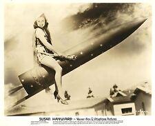 SUSAN HAYWARD, Riding the 4th of July, Rocket Orig. WARNER Photo PORTRAIT 1938