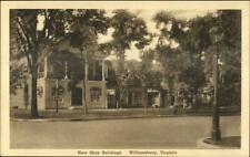 Williamsburg VA New Shop Bldgs c1920s Postcard