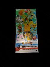 Pokemon XY Lenticular Puzzle 100 Pieces By Cardinal Brand New! Sealed