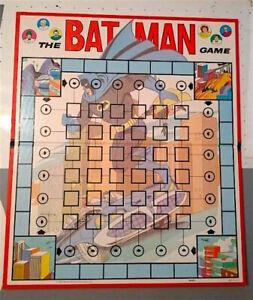 1966 Batman Vintage Original Game Board Replacement Part NICE