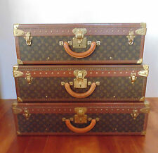 Louis Vuitton Stacking Alzer (70, 75 & 80) Hardcase Suitcases