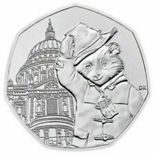 Paddington Bear at St Pauls Cathedral  50 pence coin 2019
