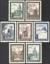 Austrian Air Mail Transports Postal Stamps