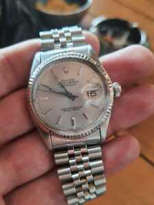 Nice vintage rolex oyster perpetual date just 36mm automatic men wrist watch