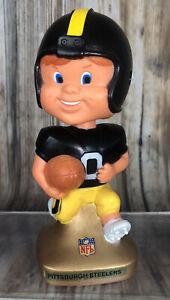 1970s Pittsburgh Steelers Football Rubber Nodder Bobblehead Hong Kong NFL