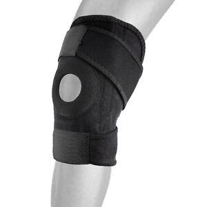 BILLZAN New Wrap Cap Around Knee Brace Support Adjustable Knee Open Patella