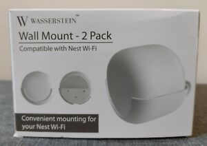 Wasserstein  Wall Mount 2 Pack Compatible With Nest Wifi