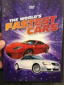 The World's Fastest Cars region 2 DVD (car program)