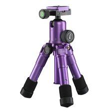 mantona kaleido mini Fotostativ, Tischstativ, Travelstativ purple metallic