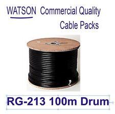 Coax RG-213 100m Drum