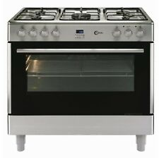 Flavel FL95FRXP Stainless Steel 90cm Dual Fuel Range Cooker | Large Single Oven
